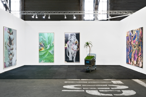 Installation view at UNTITLED San Francisco, 2020.