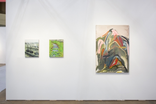 Installation view, Art Toronto, 2018