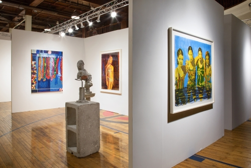 Installation view, Chicago Invitational, 2019.
