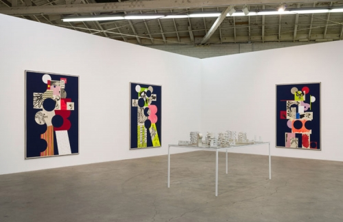 David Korty, Figure Constructions​, installation view, 2015