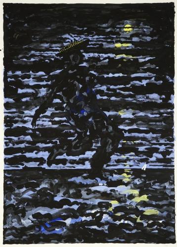 """""""Sea Walker,"""" 1987"""