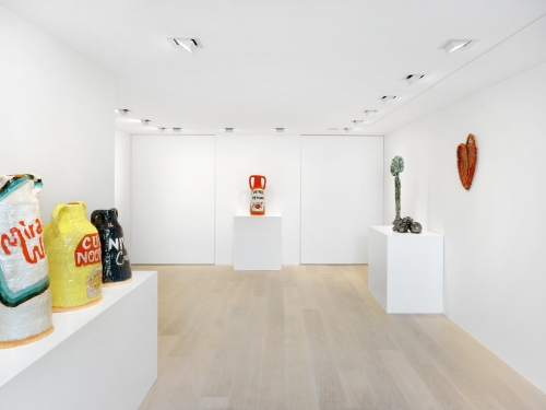 Installation view, Fire and Clay, Gagosian Gallery Geneva, 2018. Courtesy of Gagosian Gallery, image ⓒ Annik Wetter.