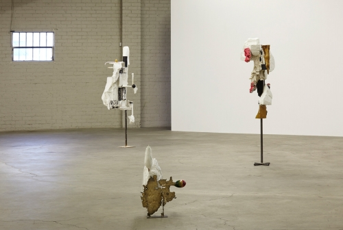 Installation view, works by David Armstrong 6, International Women's Day, 2014.