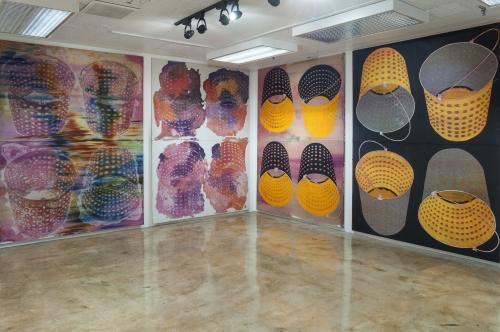 Sleep Never Rusts, installation view at MOCA Tucson, 2016