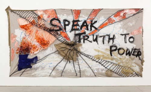 "Christine Wang, ""Speak Truth to Power,"" 2013"