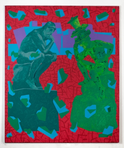 """""""The Los Angeles Collectors – Mr. and Mrs. Rodin-Riddler,"""" 2000"""