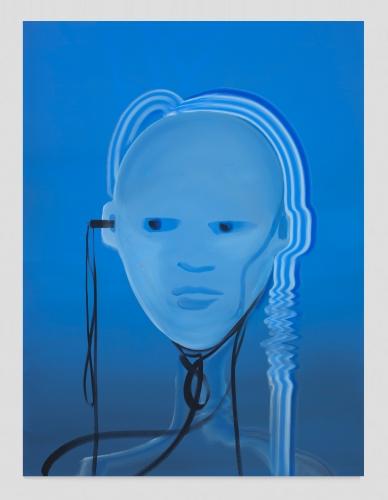 """""""Heartbeat Bot (Smalt Blue),"""" 2020"""