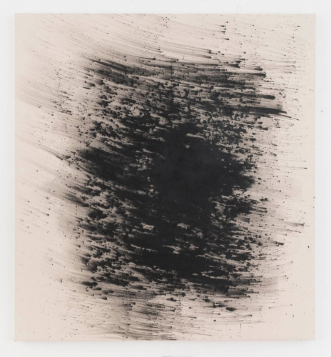 "Shawn Kuruneru, ""Untitled (Black cloud),"" 2017"