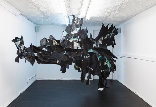I bet this cave has been here for a really long time, installation view at Shoot the Lobster, New York, 2018.