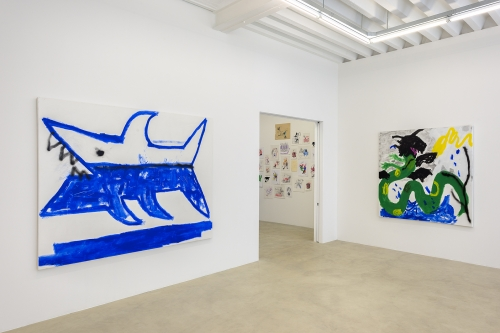 Robert Nava, Installation view at Sorry We're Closed, 2018