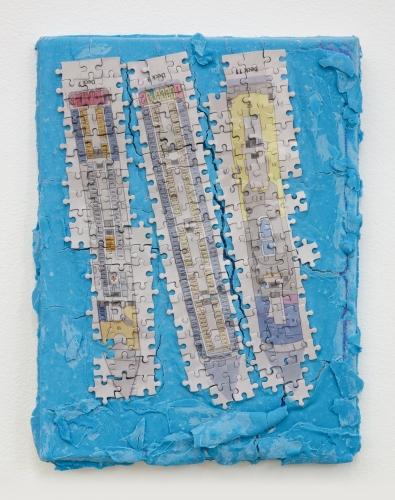 "Elif Erkan, ""Sundeck Suites, Cabins,"" 2021"