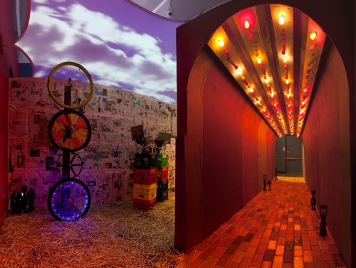 PARADE, installation view at the Sugar Hill Children's Museum, 2017