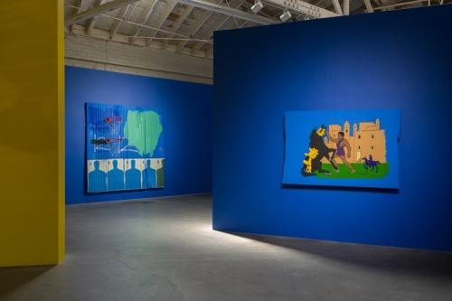 Installation view, Menace II Society, 2017