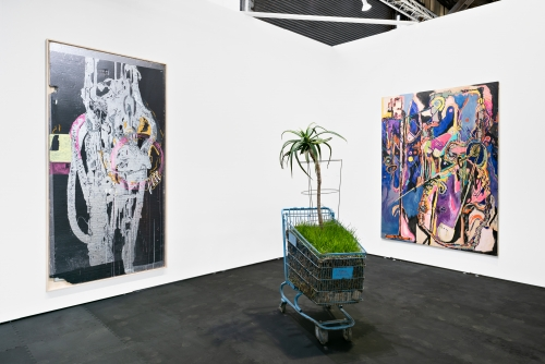 Installation view at UNTITLED San Francisco, 2020.