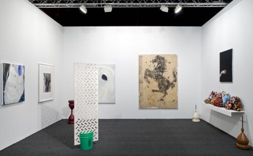 Installation view, Art Los Angeles Contemporary, 2014