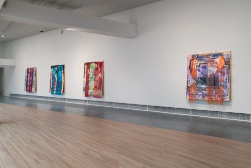 Love Rollercoaster, installation view at the Wexner Center for the Arts, Columbus, OH, 2020. Courtesy of the artist and Tilton Gallery, New York.