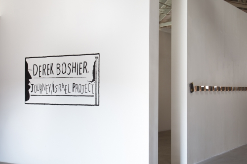 Derek Boshier,Journey/Israel Project, installation view at Night Gallery, 2014
