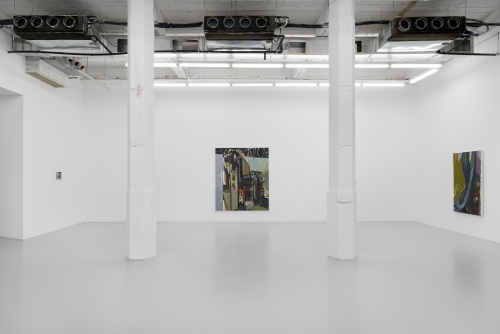 A Labile Boundary at Best, installation view at Antenna Space, Shanghai, China, 2020.