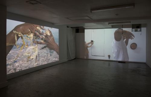 Eurydice, installation view at 219 Madison St, 2018.