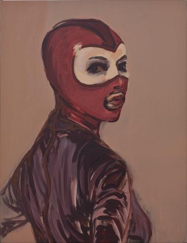 """""""Les Masques (Rouge),"""" 2015"""