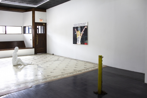 Group Exhibition, installation view, M. LeBlanc, Chicago, IL, 2021.