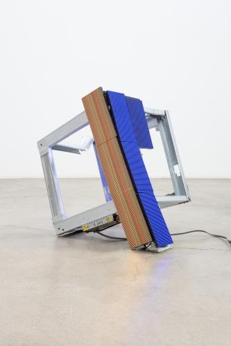 """Luke Murphy, """"Upset Cube,"""" 2020"""