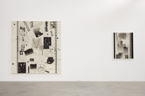 Installation view, New Paintings, 2013