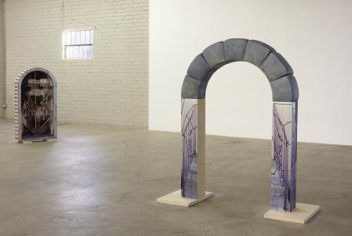 Installation view, works by Marina Pinsky, International Women's Day, 2014.
