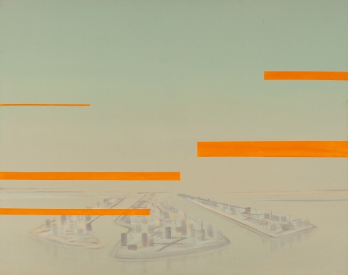 """Green Zone (Interference Orange),"" 2007"