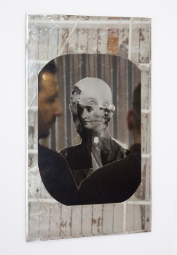 "Kandis Williams, ""Portrait of Britney, Bertha Pappenheim,"" 2016"