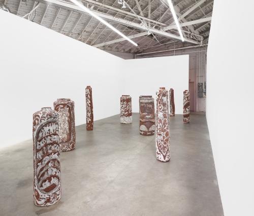 Retrograde, Installation view at Night Gallery, 2019.