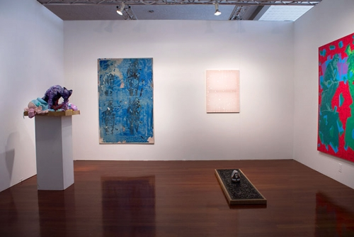 Installation view, NADA Miami, 2013