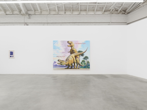 Majeure Force, installation view at Night Gallery, 2020.
