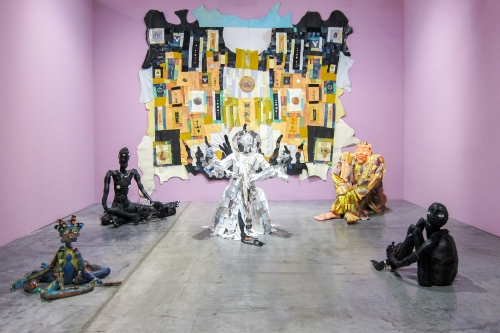 Art Basel Miami, presented by Cooper Cole, installation view, 2019.