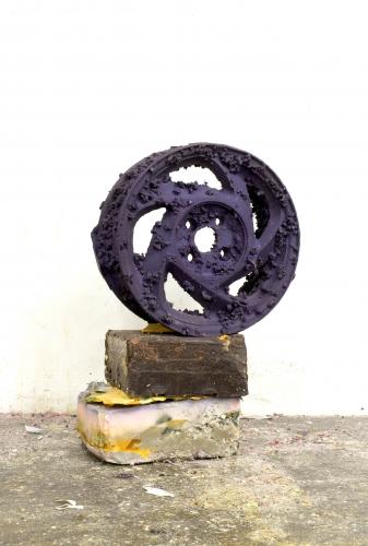 """Purple Charms,"" 2013"