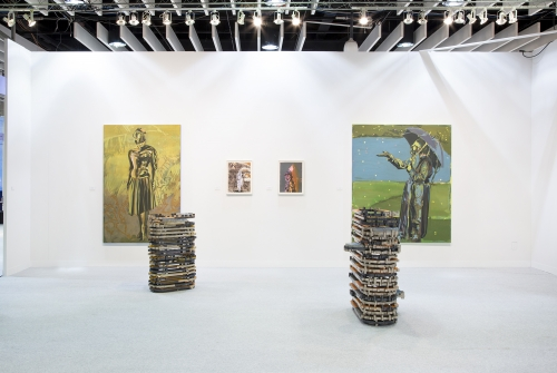 Installation view, Armory New York, 2018