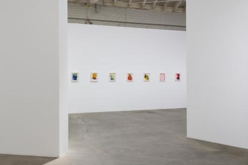 Installation view, Passage, 2018.