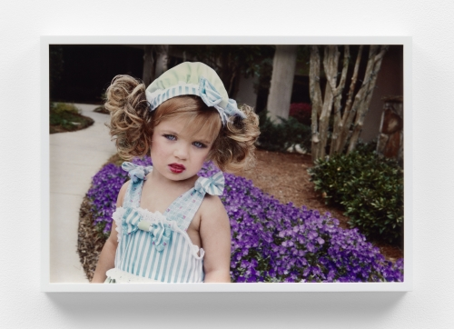 """Tanyth Berkeley, """"Pigtail Hat Girl (Beauty Pageant Contestant),"""" 2020"""
