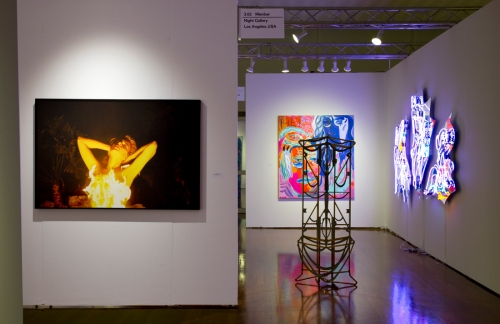 Installation view, NADA Miami, 2016
