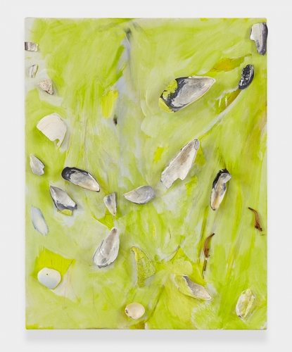 """Beach (Lime Green),"" 2013"