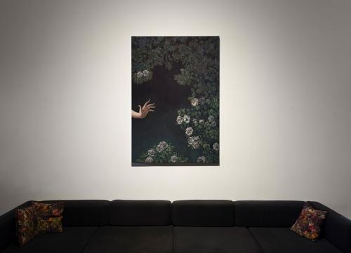 Jesse Mockrin, The Progress of Love, installation view, 2016.