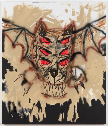 "Robert Nava, ""Vampire Bat,"" 2019"