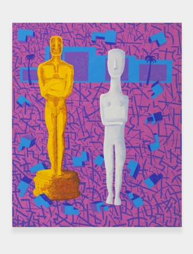 """The Los Angeles Collectors, Mr. & Mrs. Oscar Cycladic,"" 2001"