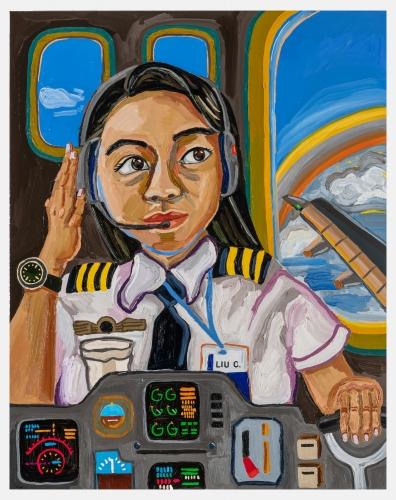 """""""Pilot Claudia,"""" 2021"""