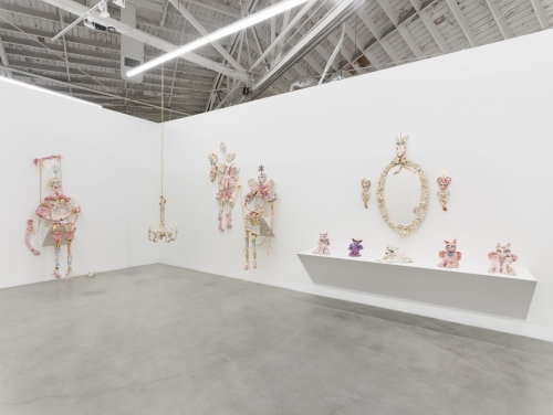It would be very glamorous to be reincarnated as a great big ring on Liz Taylor's finger, installation view, 2020.