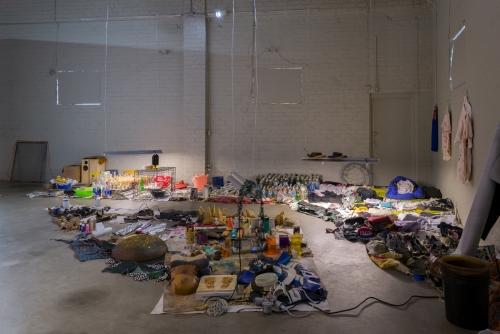 JPW3, Drifting the Bog, installation view, 2017