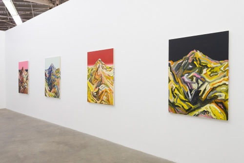 Andy Woll, Sticks and Stones, installation view, 2016