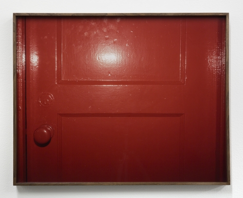 "Melanie Schiff, ""Red Door,"" 2018"
