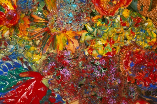 "Nobuyoshi Araki, ""Painting Flower,"" 2004/2014"