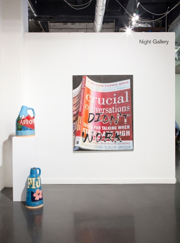 Installation view, Independent Art Fair with Christine Wang, 2018